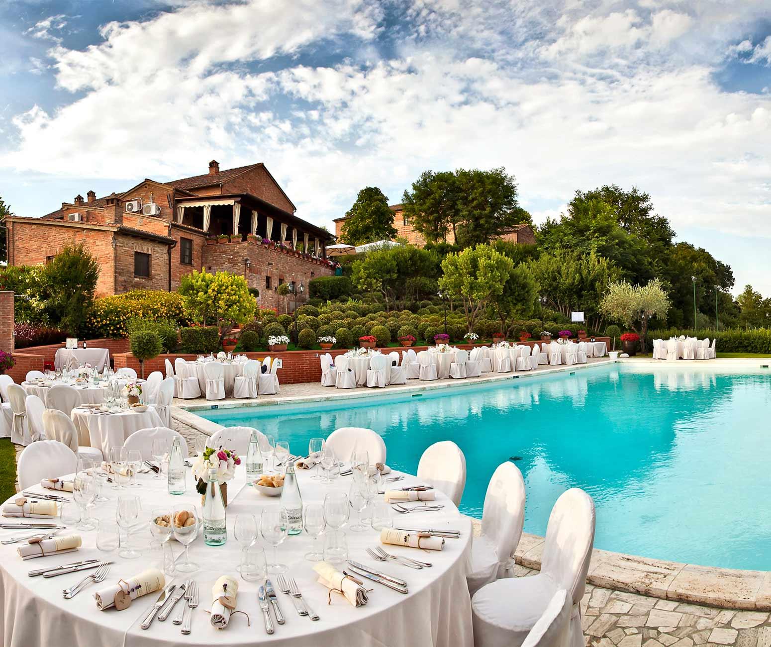 Ristorante Matrimonio Toscana : Ristorante matrimonio montepulciano borgo tre rose